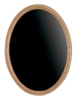 George III Linnell Oval Mirror - Large