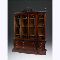 Robert Adam Breakfront Bookcase