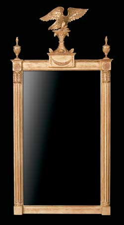 Regency Eagle Pier Mirror