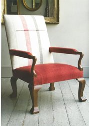 Contemporary Gainsborough Library Arm Chair