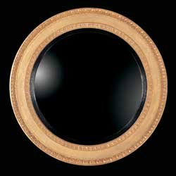 Regency Egg & Dart Convex Mirror