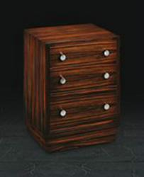 Small Chest of Drawers in Macassar Ebony