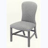 Upholstered Spoon back Chair
