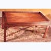 Mahogany Fret Gallery Coffee Table
