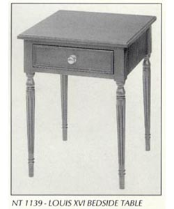 Louis XVI Bedside Table