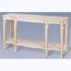 Painted 2-Tier Neo-Classical Console