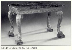 Gilded Centre Table