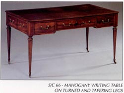 Mahogany Writing Table