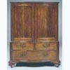 Queen Anne Serpentine Linen Press