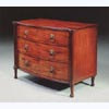 Regency Bow-Fronted Mahogany Chest