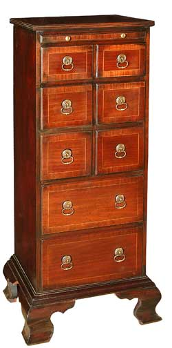 Eight Drawer Tall Chest