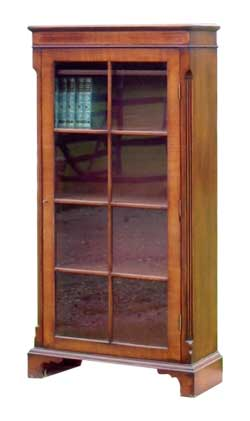 Tall Glazed Bookcase