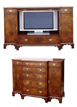 TV / Video Cabinet in George 1st Style